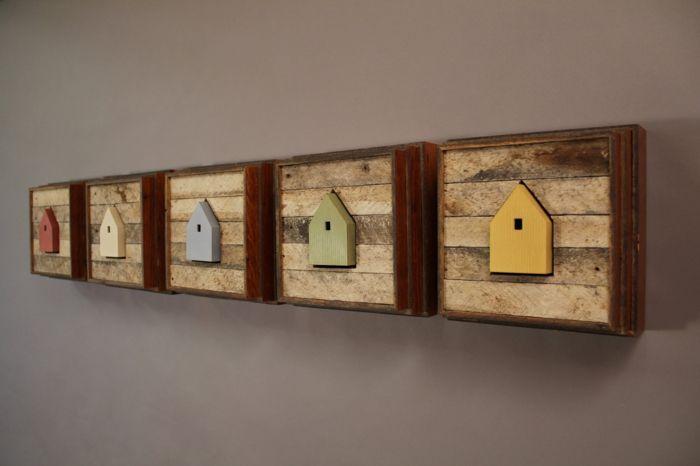 40 Verbluffende Ideen Fur Wanddeko Aus Holz Wanddeko Fur Ein