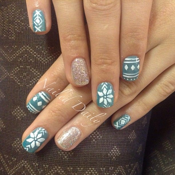 christmas by jvnaildesign  #nail #nails #nailart