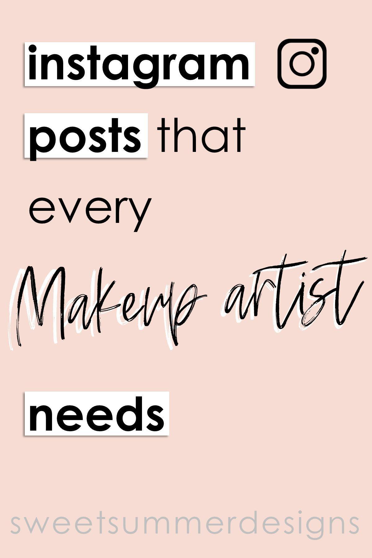65 Makeup Artist Instagram Posts Makeup Quotes Social Media Etsy Makeup Artist Quotes Makeup Quotes Instagram Makeup