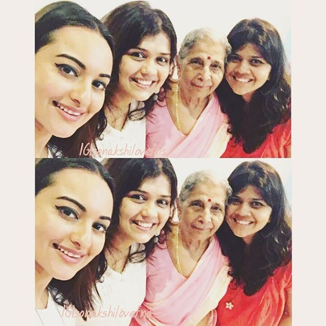 Sunday morning selfiee  Selfie queennnnn  Aww  Her smile is my life ❤❤ @aslisona  #SonakshiSinha #selfie #sunday