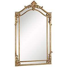Rizon Gold Leaf 30 X 48 Wall Mirror