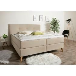 Photo of Lonni box spring bed including Led lighting, material synthetic leather – 180 x 200 cm furniture-one furniture-egg – bingefashion.com/dekor