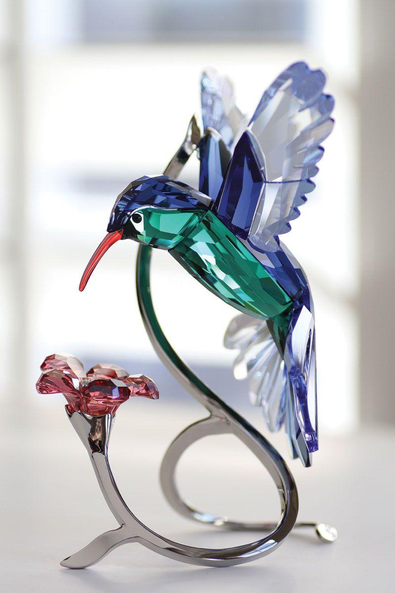 Swarovski Paradise Hummingbird Sculpture Swarovski