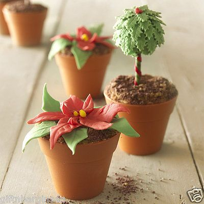 12 x #flowerpot #plant pot baking cupcakes muffins #fairy cakes moulds new,  View more on the LINK: 	http://www.zeppy.io/product/gb/2/181974611290/
