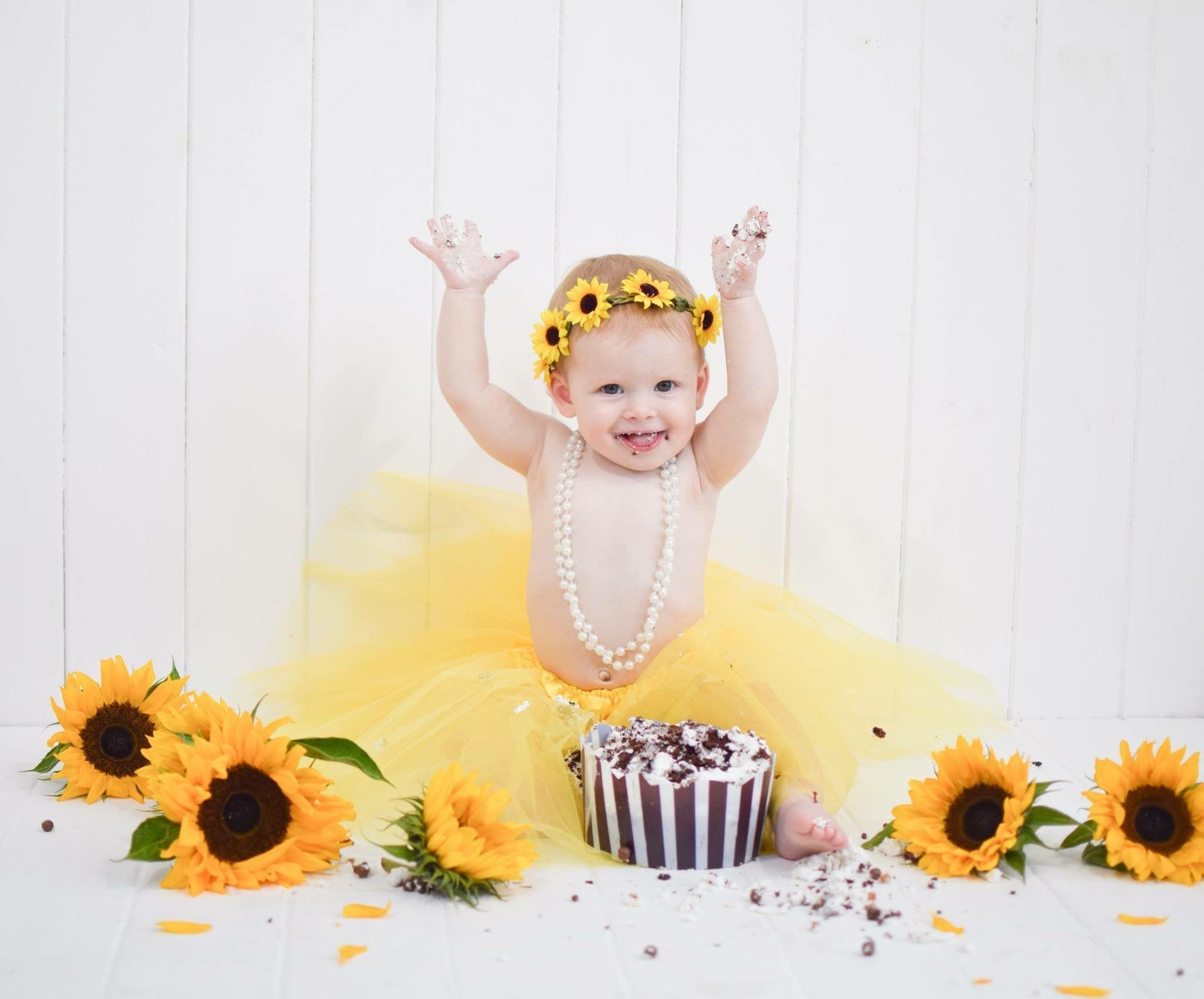 Sunflower Birthday Parties