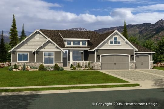 R 1754b Ranch Style House Plans Small Ranch Style House Plans New House Plans