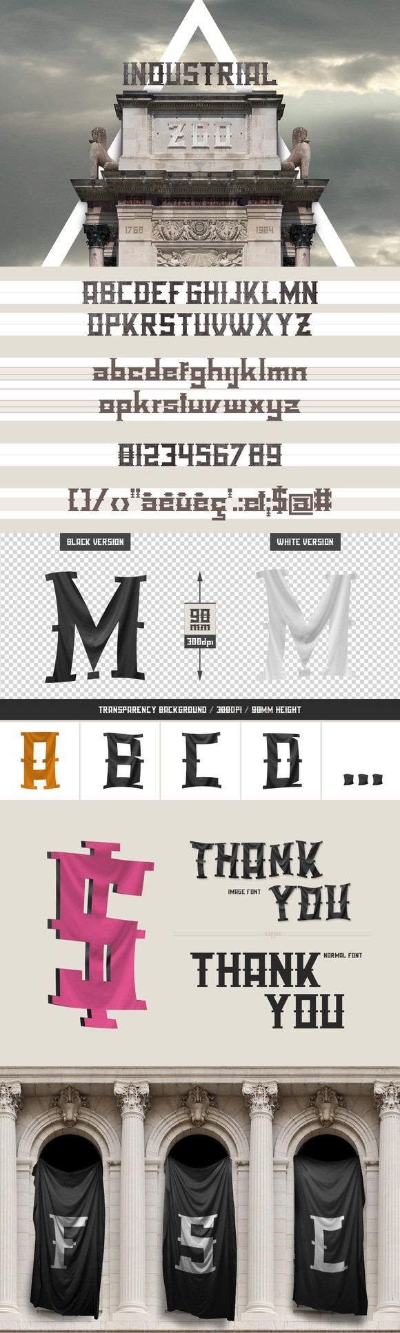 Download Industrial Zoo - font pack | Font packs, Sans serif fonts ...