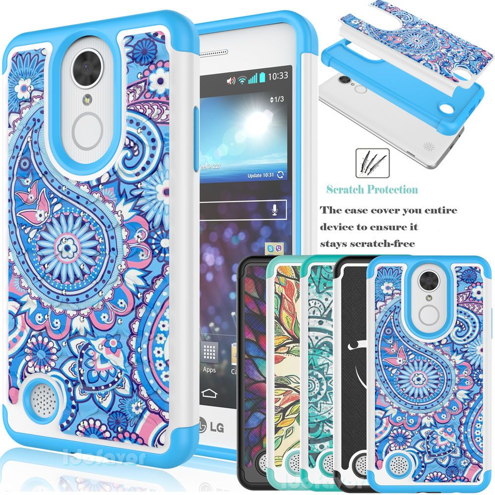 new product feafc 99301 Details about LG Aristo/LG K8 2017 Case Hybrid Retro Pattern ...