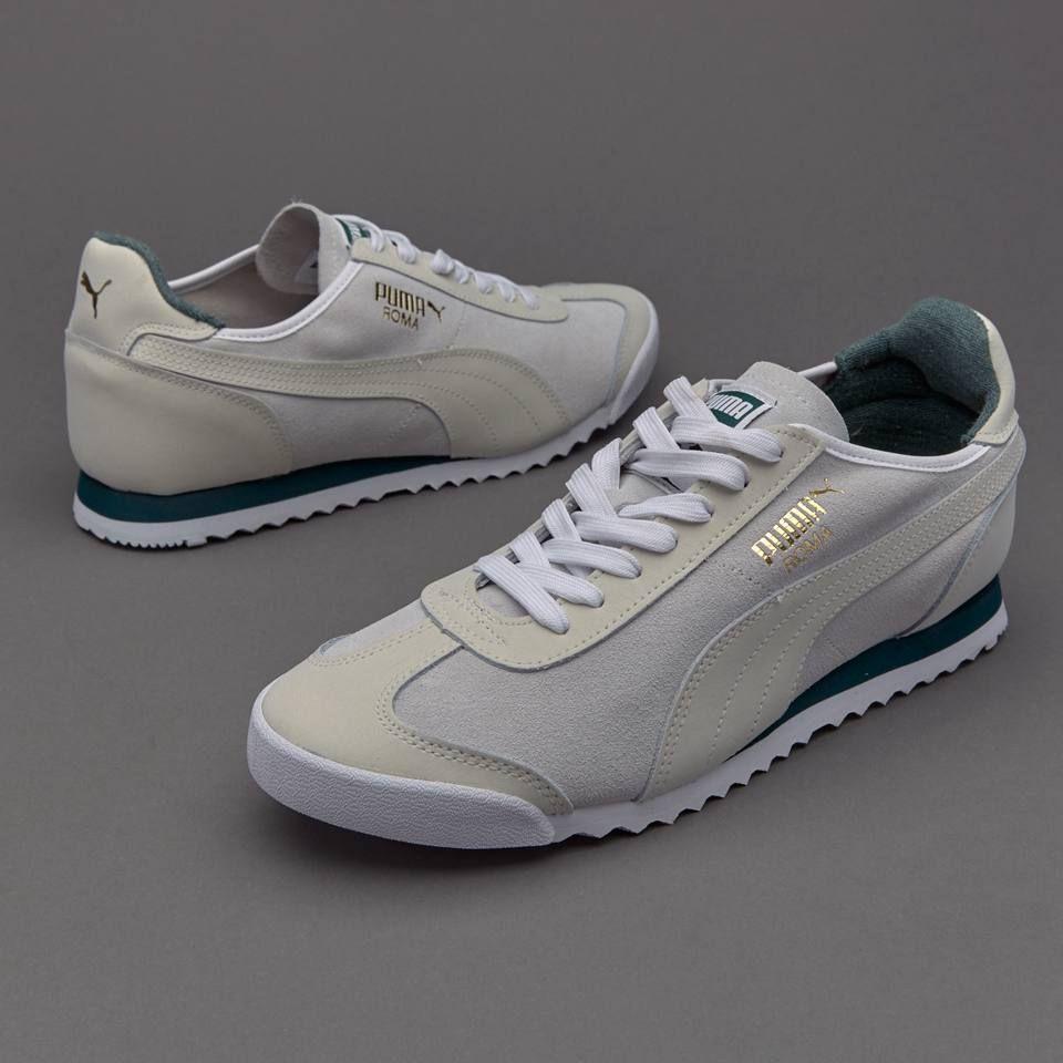 Men Top-rated Puma Roma OG Leather Shoes (Puma White) - Men ...