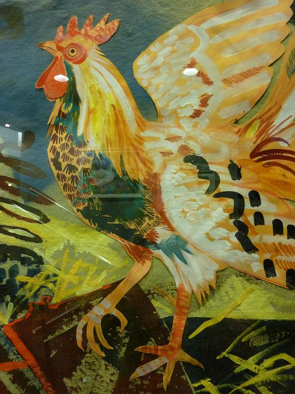 Mark Hearld rooster