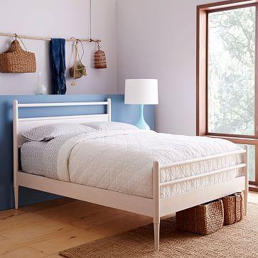 Harper Bed - Full, White | Pinterest