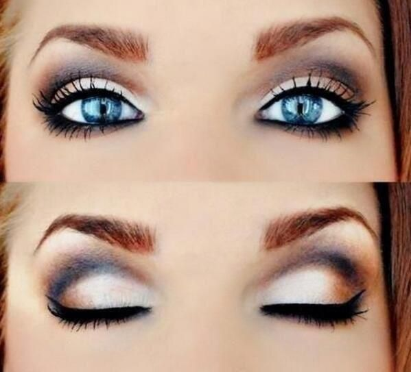 How To Make Blue Eyes Pop Purple Eye Makeup Makeup Blue Eye Makeup