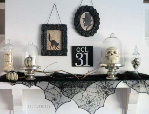 40 Spooktacular Halloween mantel decorating ideas Mantels, Spooky