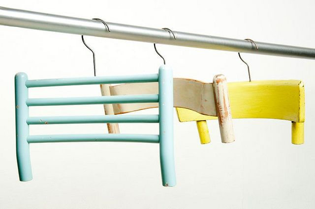 for people that like to hang there coat on the back of there chair, pinned by Ton van der Veer