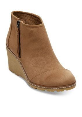 5891c7ac19d Toms Women s Microfiber Avery Bootie - Toffee - 7M