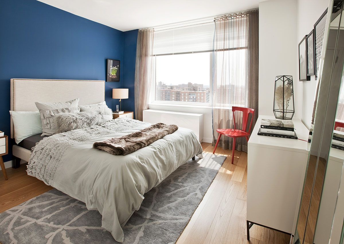 The Alexander At Rego Park Luxury Apartments Bed Furniture Home