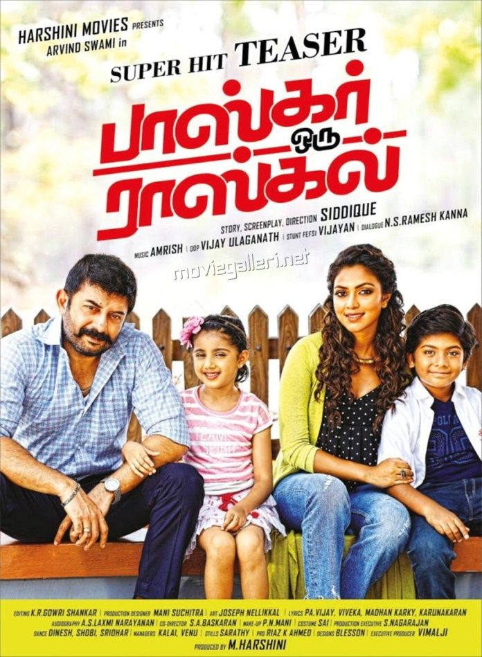 Watch Bhaskar Oru Rascal Full-Movie Streaming