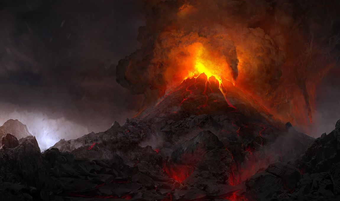 volcanic eruption | Volcanoes | Pinterest | To be, The o'jays and ...