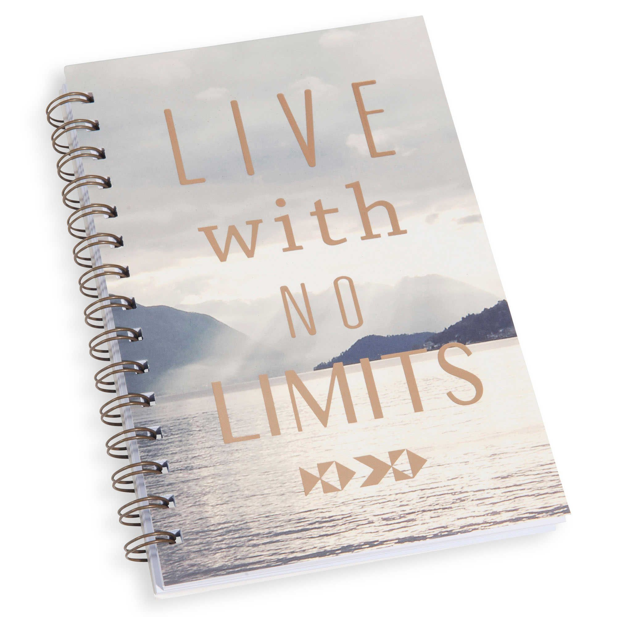 Carnet de notes 14 x 21 cm NO LIMITS LIGNES