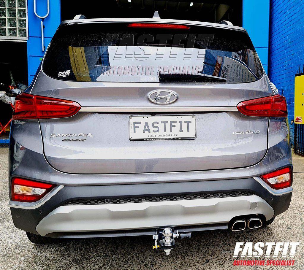 Hayman Reese Towbar To Suit Hyundai Santa Fe Cl4 In 2021 Hyundai Santa Fe Hyundai Reese