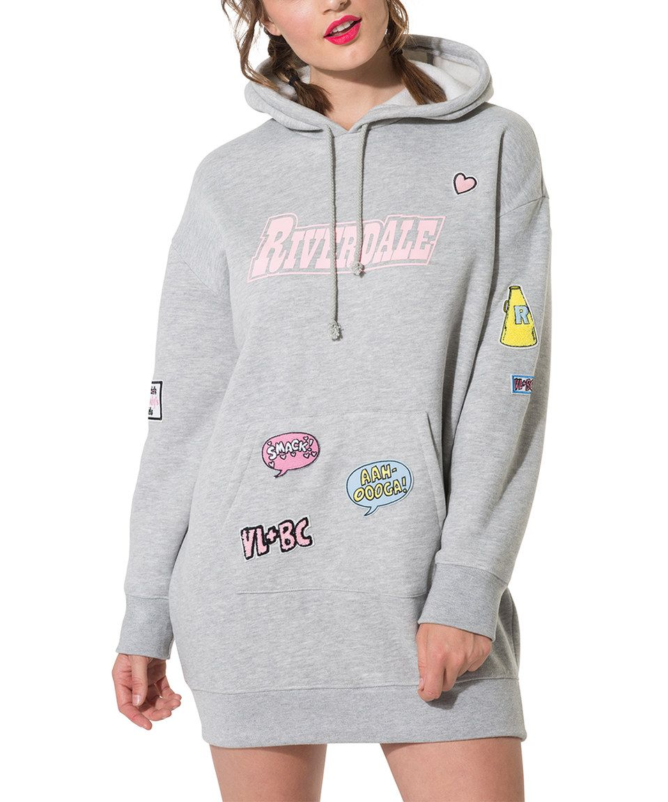 f9c8ae7eadb Take a look at this Gray  Riverdale  Hoodie Dress today!