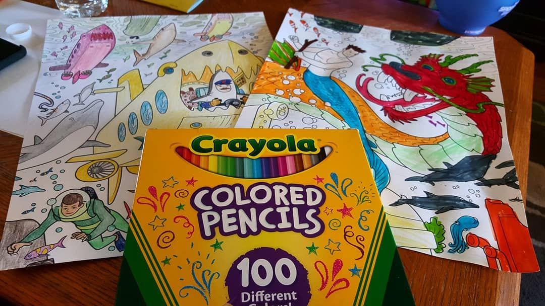 Family Escapes Group Coloring Designs Trend