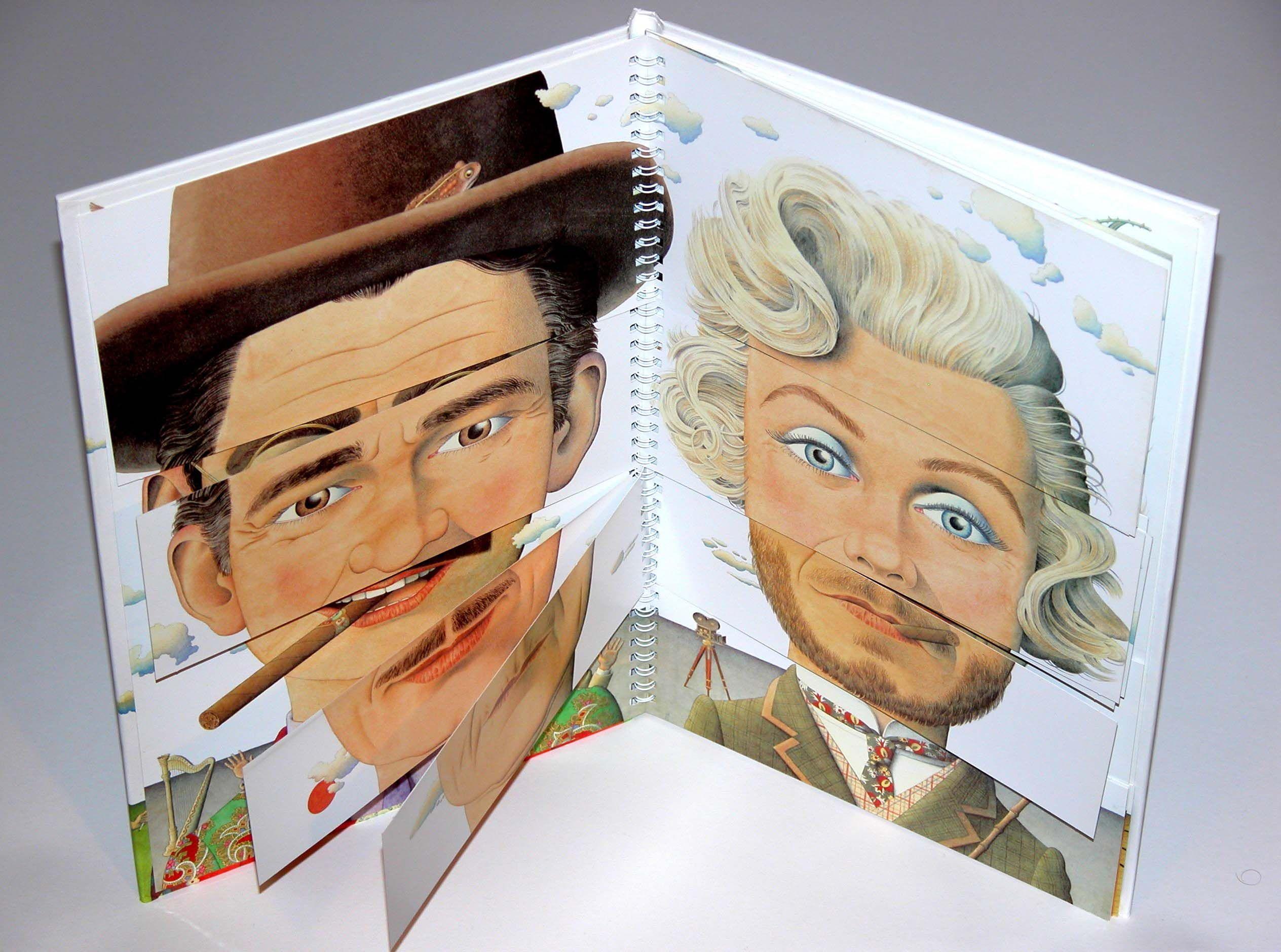 têtes d'affiche Making faces Norman Messenger