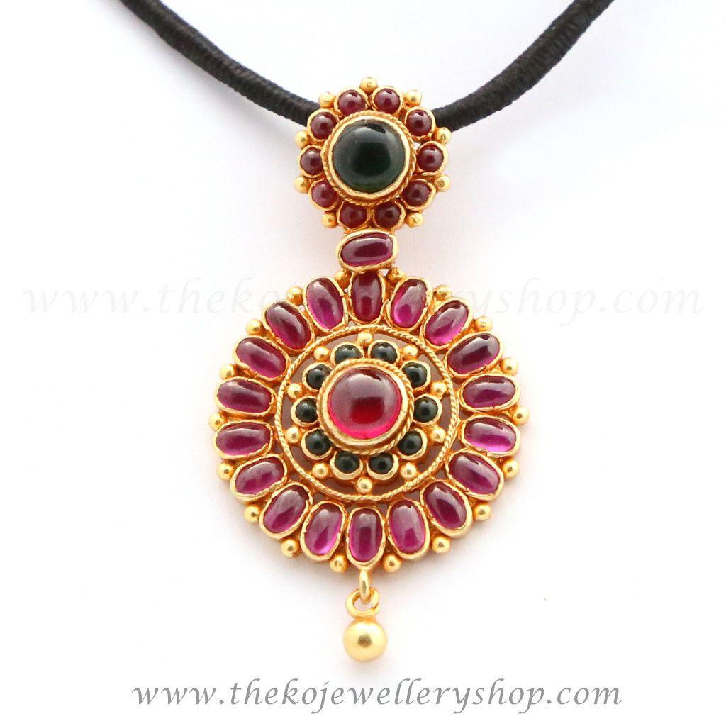 The nitya silver kempu pendant silver pendants pendants and gold the nitya silver kempu pendant aloadofball Choice Image