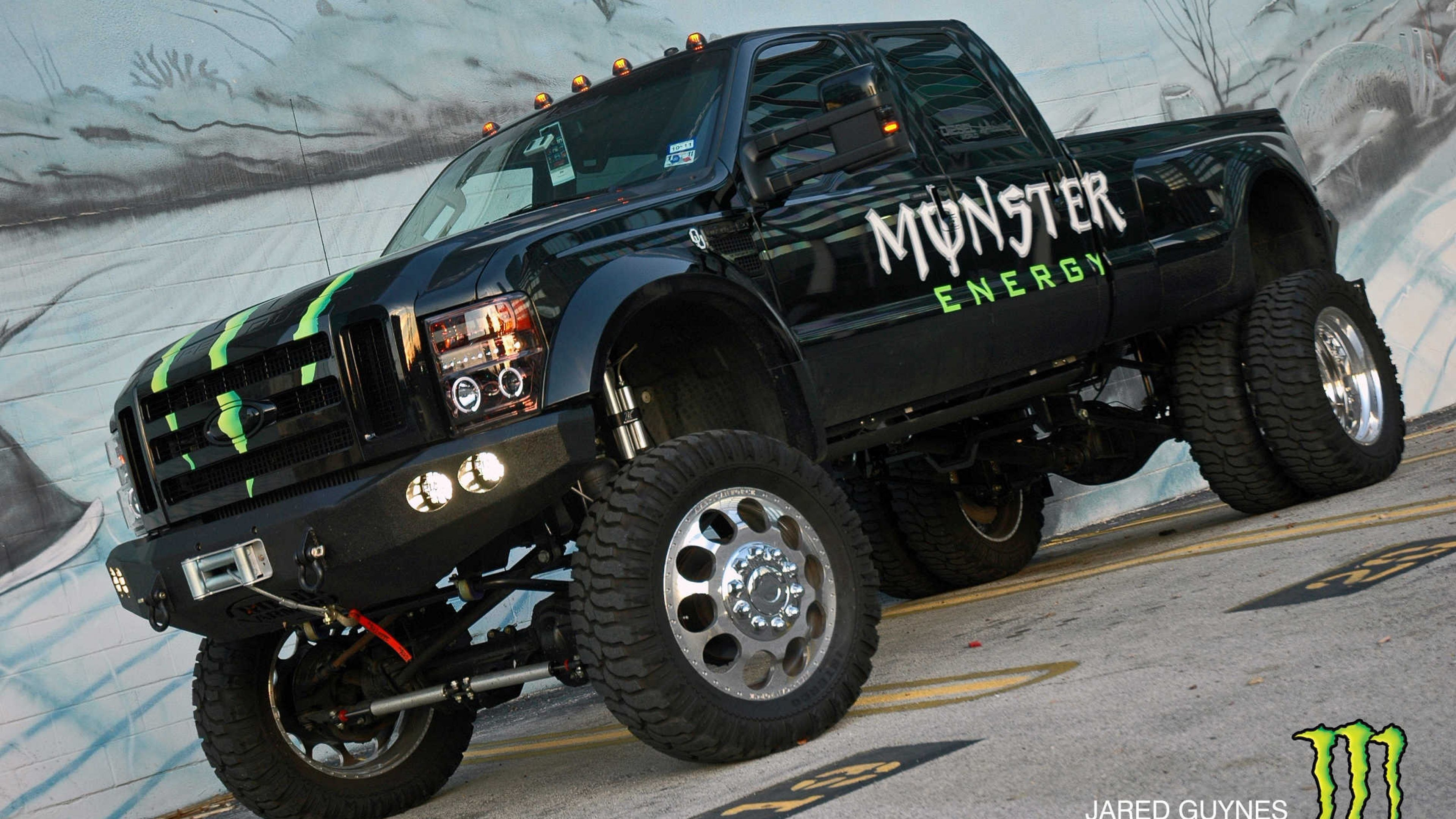 3840x2160 Wallpaper Monster Energy Truck Hd Wallpapers Monster Energy Trucks Monster Trucks