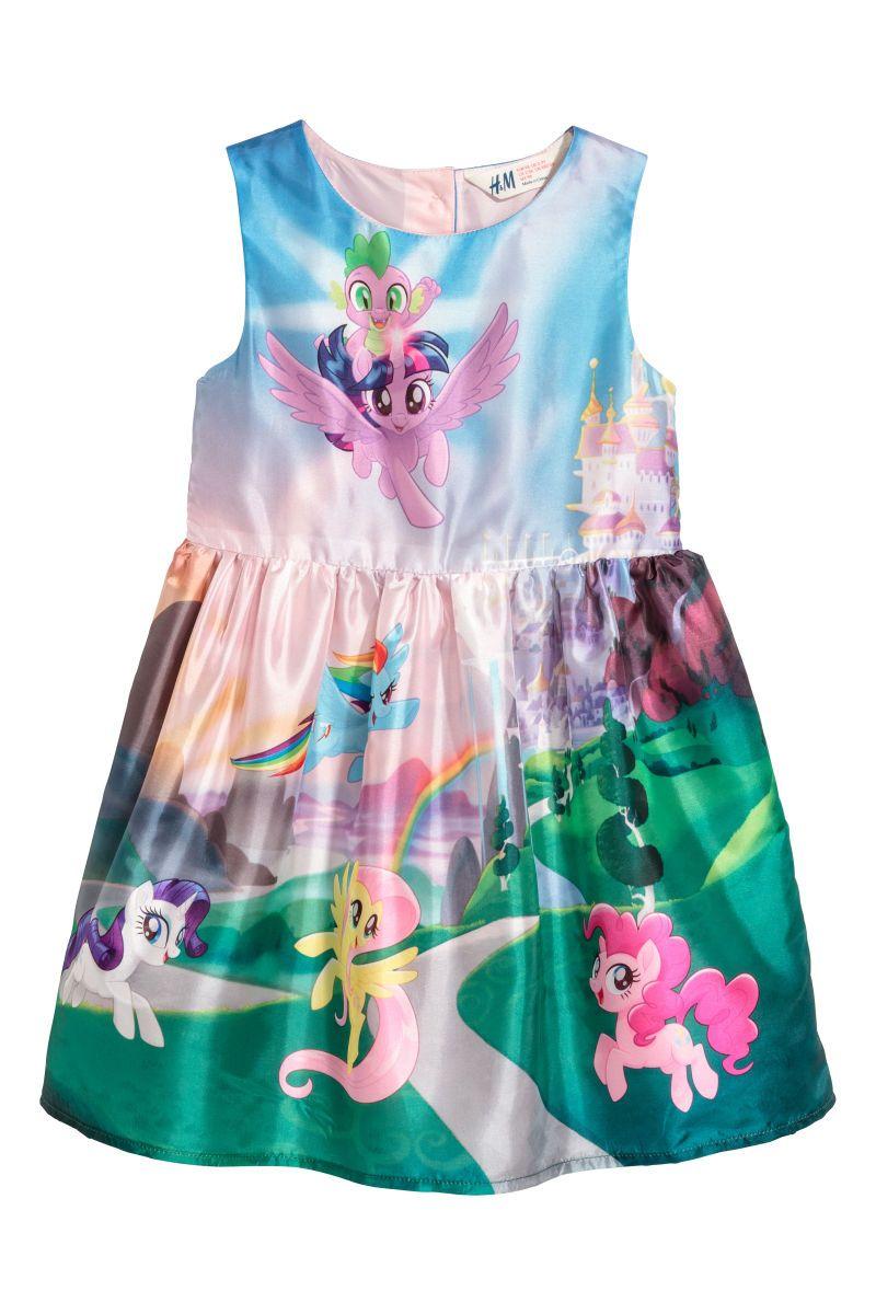 2965c1ede0207 Patterned Dress | Light pink/My Little Pony | SALE | H&M US | WORK ...
