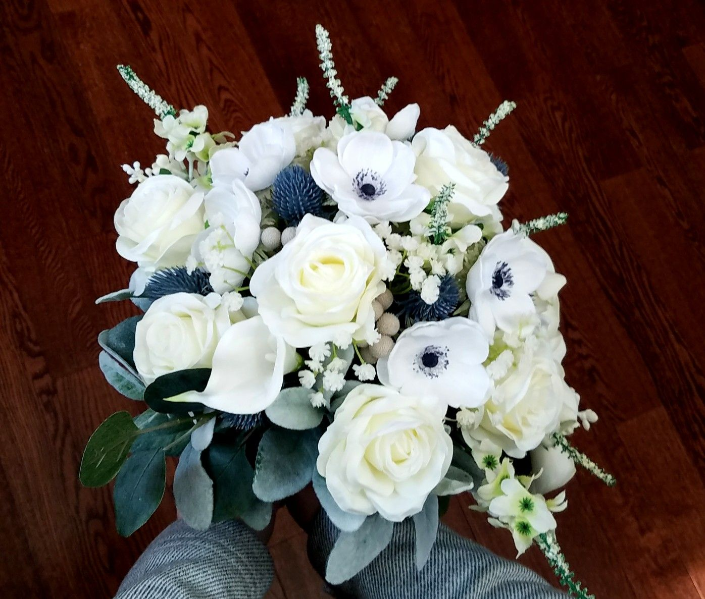 Gorgeous Cascading Bridal Bouquet Contact Chicago Silk Florist To