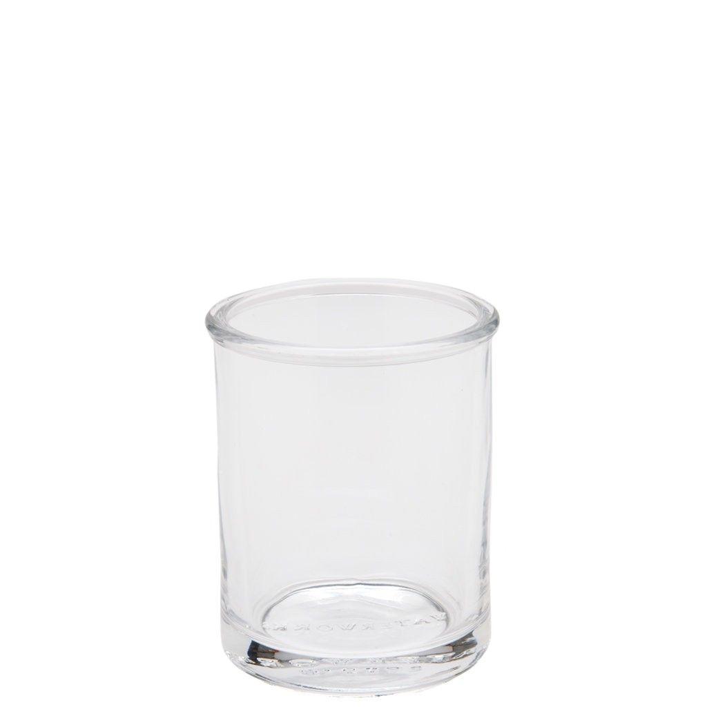 Vintage Glass Bathroom Tumbler | Bath Accessories | Accessories ...