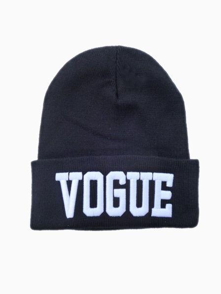 29ada77deda New Look VOGUE Beanie In Black - Choies.com