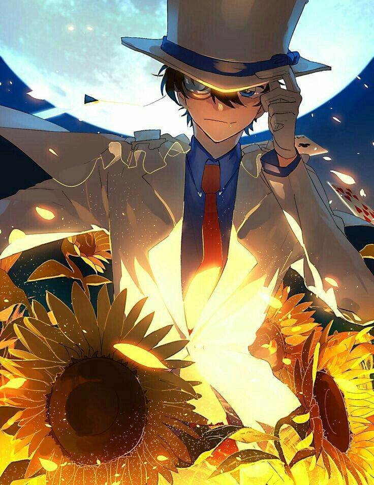 Kho Ảnh Anime Phong Cảnh Kaito, Kid detectives, Magic