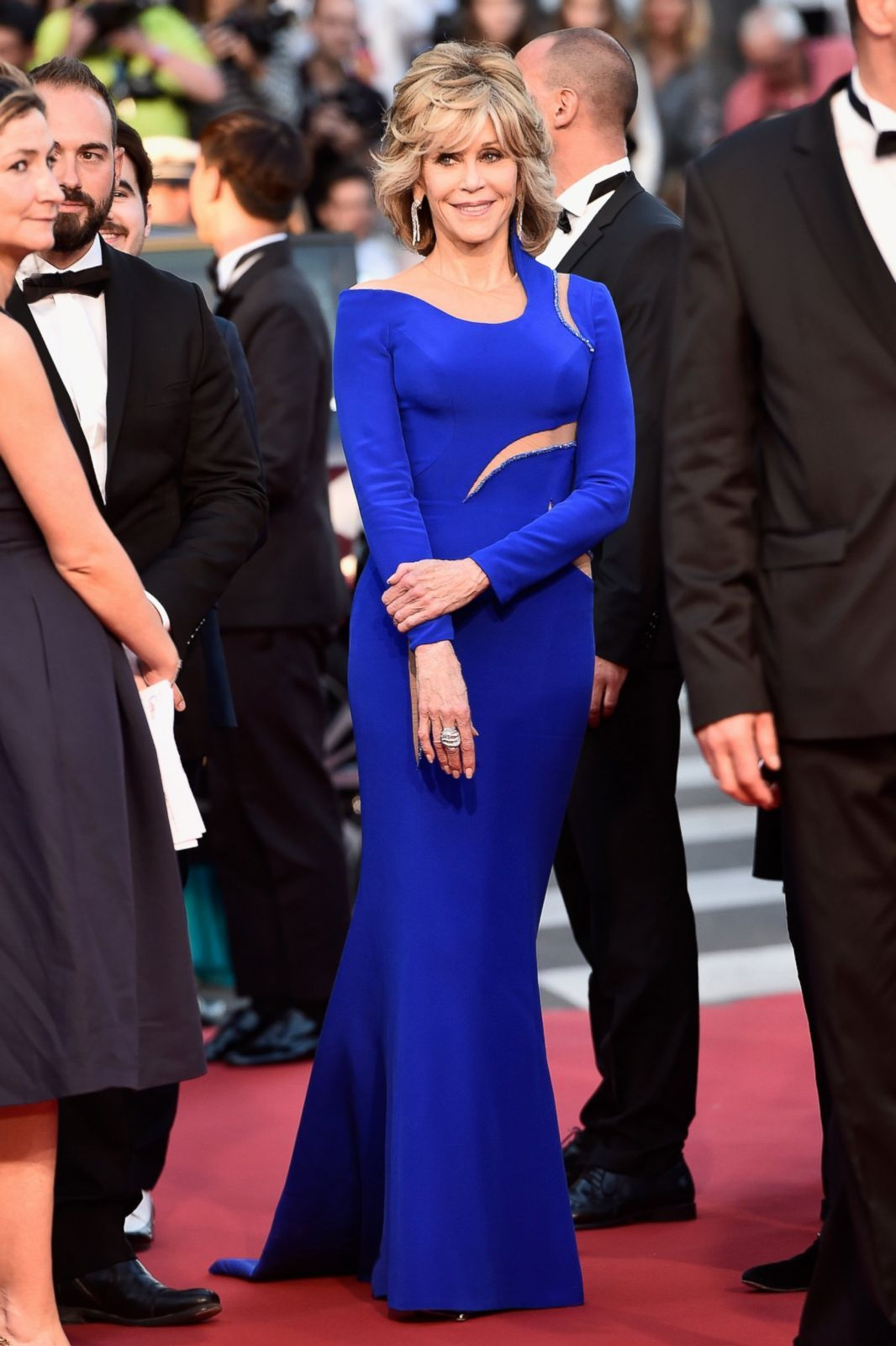 Jane Fonda attends the 'The Sea Of Trees' premiere during the 68th annual Cannes Film Festival on May 16, 2015 in Cannes, France.