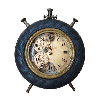 Jeco Inc Table Clock Table Clock Clock Blue Table