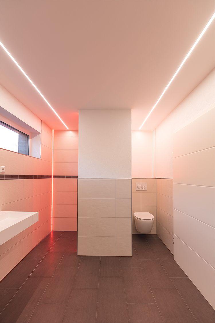 Lineares Licht Als Primaerbeleuchtung Mit Profilen Von Reprofil Schlicht Edel Und Modern Reprofil Profil Beleuchtung Badezimmerideen Trockenbau Ideen