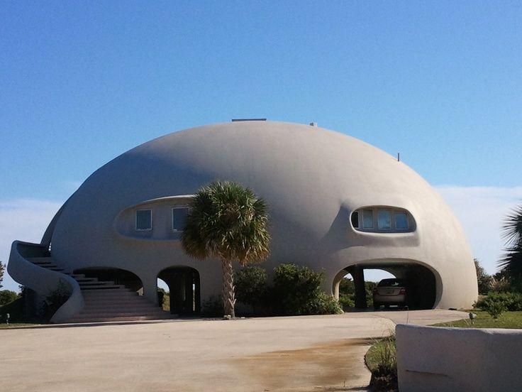 Hurricane Proof House On Sullivan S Island Near Charleston Sc Hurricane Proof House Monolithic Dome Homes Dome House