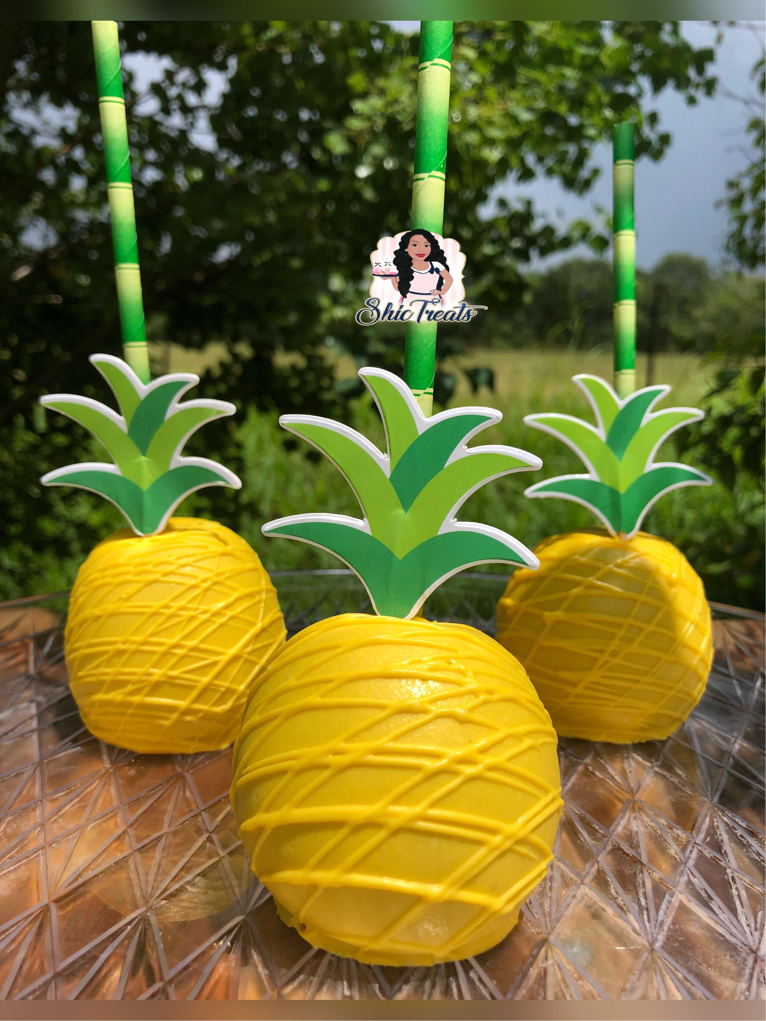 Pineapple Chocolate Apples In 2019 Chocolate Apples