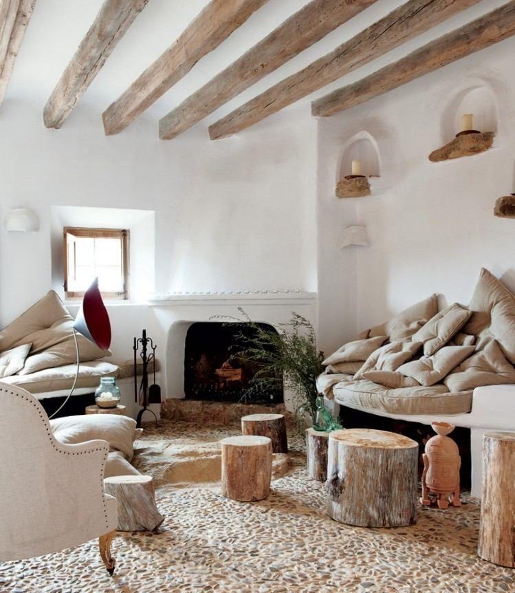 Salon contemporain de style rustique en 55 idées fascinantes