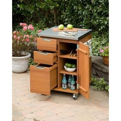 Superbe Home Styles Montego Bay Patio Cart 5700 95   The Home Depot