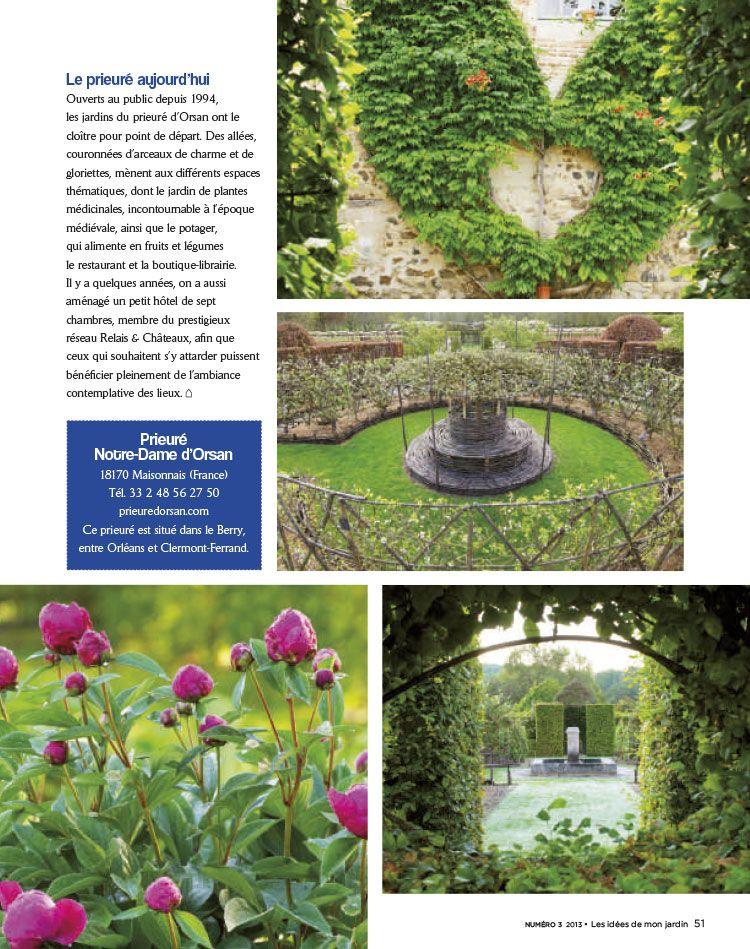 prieur notre dame dorsan villa ursinus les ides de mon jardin - Les Idees De Mon Jardin