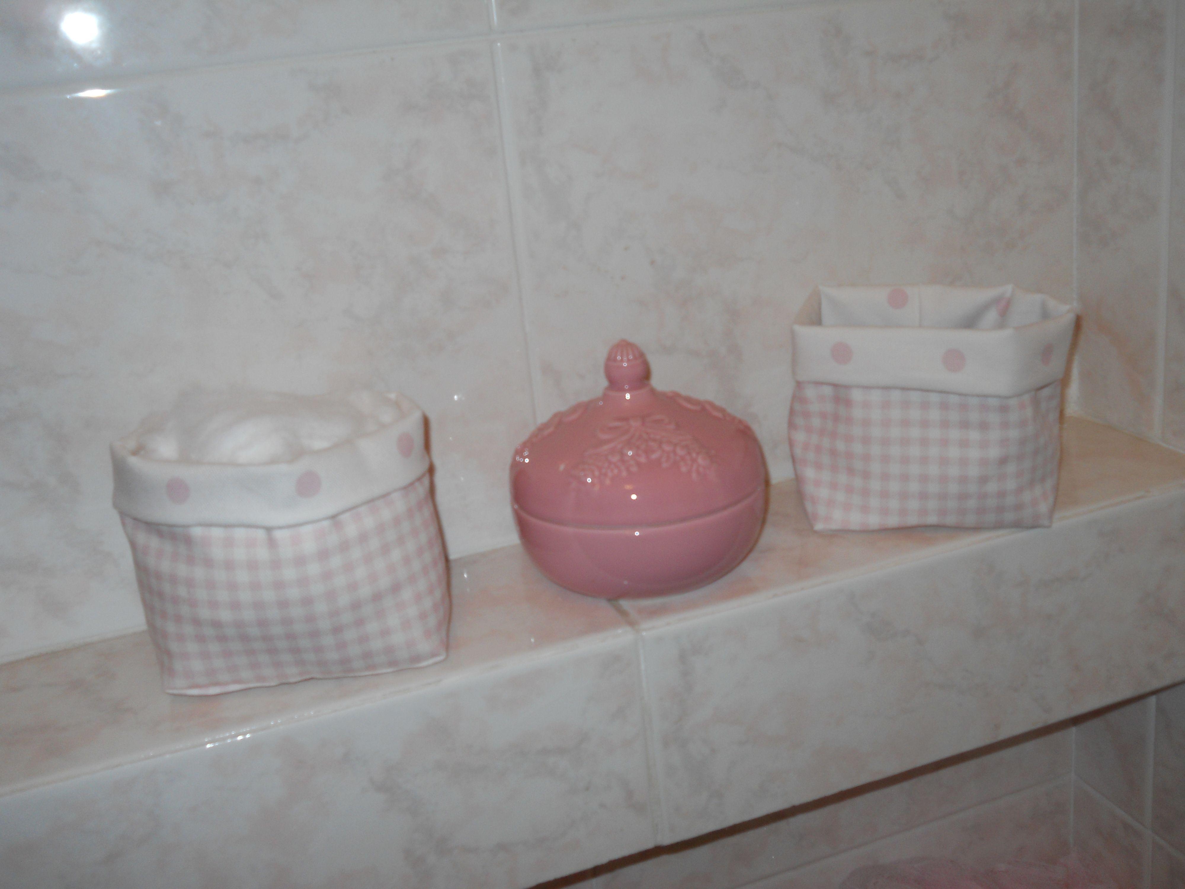 Piccoli porta tutto da bagno cucito creativo - Cucito creativo bagno ...