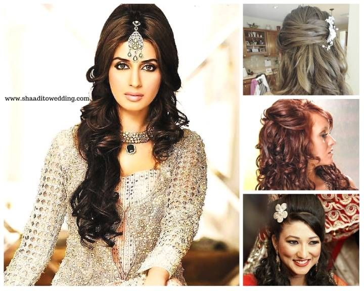 We Have Put Together 6 Latest Bridal Hairstyles For Indian Dulhan Too Choose From In Right Half Updos To Gorgeous Braids Check Them Out