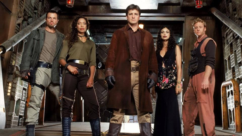 Posted by SF Series and Movies-   Firefly Crew