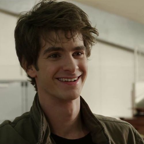 Peter Parker from The Amazing Spiderman. SO cute:)