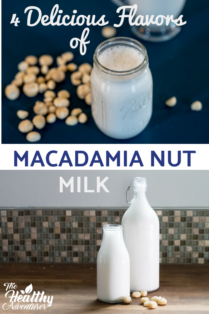 Macadamia Nut Milk Is Definitely The Creamiest Nut Milk You Can Make This Thick Flavorful Mil Vegetarian Recipes Easy Vegan Drinks Recipes Best Vegan Recipes