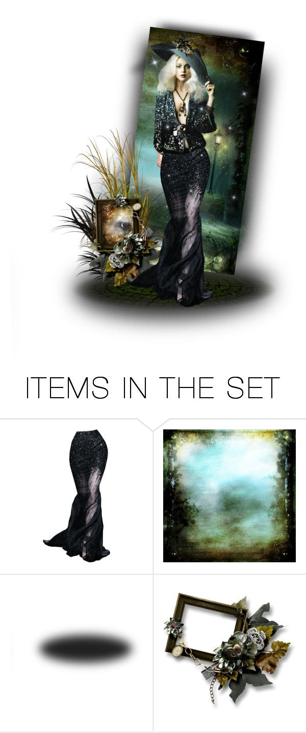 """Dark and Somber"" by poshtrish ❤ liked on Polyvore featuring art"