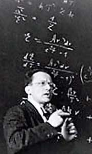 Schrodinger created the equivalent of Newtons laws of motion but for quantum systems. One of his lesser known achievements, however, was a lecture titled What is Life, which predicted the essential mechanism of DNA - that it should be an aperiodic crystal so that it could contain information.