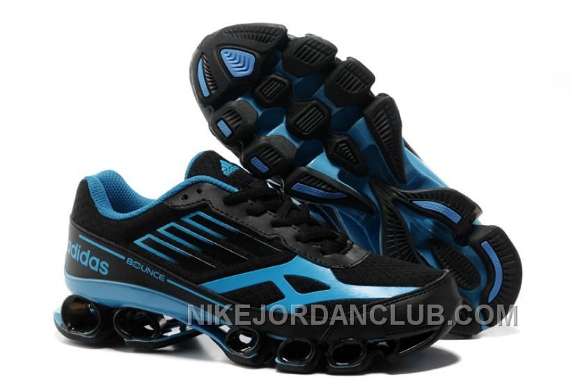 Find this Pin and more on Adidas Running Shoes. Discount Adidas Bounce 2013  Womens Black Chlorine Blue ...